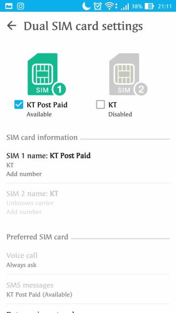 SOLVED] Unknown Indicator on Android SIM Phone Number Status
